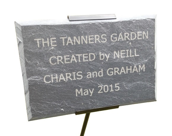 Engraved Slate Memorial Plaques
